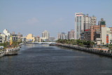 Tainan Canal leading eastwards from Anping