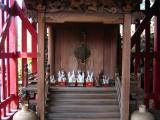 Small shrine interior