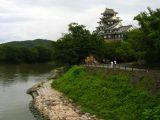 Riverside view of Okayama-jō