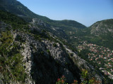 Southern mountains above Kotor