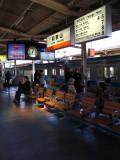Platform at Wakayama station