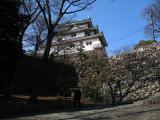 Climbing up to Wakayama-jō