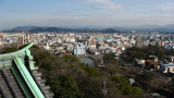 View over Wakayama-kōen and city surrounds