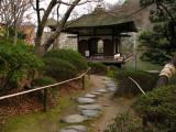 Old teahouse in Momijidani-teien