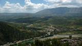 Mountainous outskirts of Berati