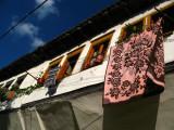 Beneath a laundry line, Gorica quarter