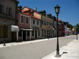 Main street in Cetinje's old town