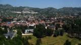 Panorama over central Cetinje