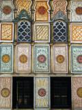 Murals and windows of the Šarena Djamija
