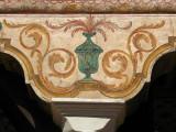 Pillar detail, Colored Mosque