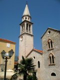 Church of St. John and bell tower