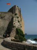 Below a citadel tower