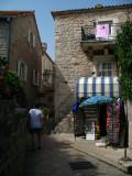 Stari Grad souvenir shop and balcony
