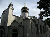 Neighboring Orthodox Cathedral in Ramybės Park
