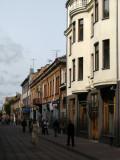 Kaunas New Town along Laisvės alėja