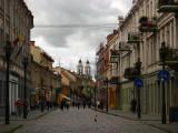 Old Town scenery on Vilniaus gatvė