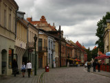 Curving west end of Vilniaus gatvė
