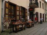 Souvenir shop on Vilniaus gatvė