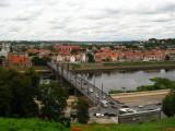 Kaunas and the Nemunas River from Aleksoto