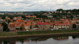 Riverside Old Town skyline from Aleksoto
