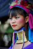 Long neck hill tribe, Chiang Mai, Thailand