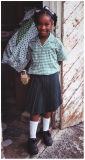 Smiling Tortola girl