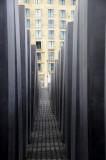 Claustrophobic passages at the Holocaust memorial