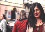 Girl on Lychakivsky Street