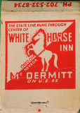 WHITE HORSE INN - McDERMITT, NEVADA-OREGON