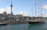 Visiting Big Ships at the Auckland Viaduct