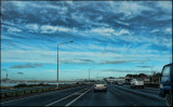 Heading to Auckland City via the Northern Motorway