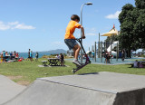 Beach Skate-board Ramp