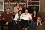 Nana with Six of Her Eight Grandchildren