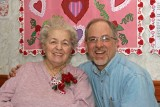 My Mother & I on Valentine's 2009