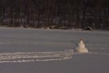 Marsh Creek Lake Snowman