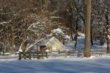 Springhouse in Winter