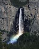 Late Afternoon Bridalveil Falls Rainbow