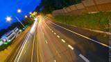 Oslo Highway at Night