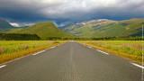 Road at Svartisen National Park