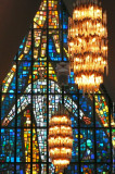 Huge Stained-glass Work of Victor Sparre at Arctic Cathedral, Tromso
