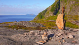 View to the Southermost Lofoten Islands