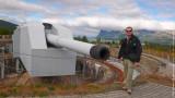 World's largest land-based big gun of WWII era named Adolf Kanonen /calibre of 40.6 cm/, Harstad