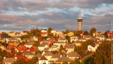 Trondheim at Sunset