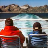Leaving the Islands, Lofotens, Norway
