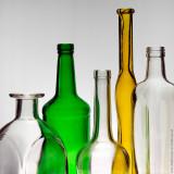 Color Bottles Still Life