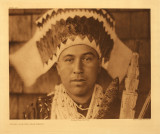 Tolowa dancing headdress
