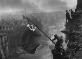 Yevgeny Khaldei /1917-1997/: Victory Flag over the Reichstag, 1945