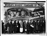 Margaret Bourke-White /1904-1971/: Worlds Highest Standard of Living, 1937