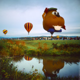 Beaver's Balloon and His Pond