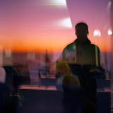 Autoportret with Color Negative Film